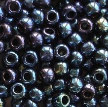Toho 6/0 Seed Beads Metallic Cosmos 88 - 10 grams